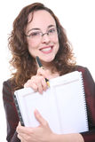 Pretty Business Woman Royalty Free Stock Images