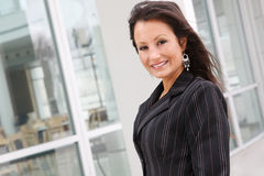 Pretty Business Woman at Office Royalty Free Stock Image