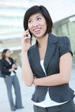 Pretty Business Woman on Phone Stock Images