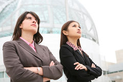 Pretty Business Women Stock Photo