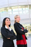 Pretty Business Women at Office Stock Photography