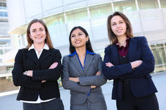 Pretty Business Women at Office Stock Images
