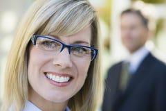 Pretty Businesswoman Stock Photos