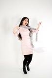 Pretty businesswoman Stock Photography