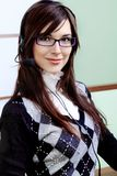 Pretty businesswoman Stock Photo