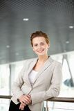 Pretty businesswoman Stock Photography