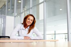 Pretty businesswoman Royalty Free Stock Photos