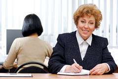 Pretty businesswoman Royalty Free Stock Images