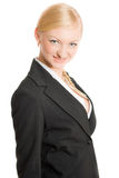 Pretty businesswoman isolated Royalty Free Stock Images