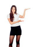 Pretty businesswoman Royalty Free Stock Photography