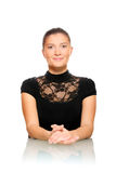 Pretty businesswoman in the office Stock Photography