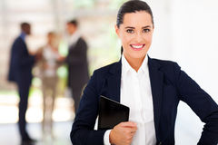 Pretty businesswoman portrait Royalty Free Stock Images