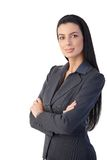 Pretty businesswoman posing Royalty Free Stock Photography