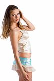 Pretty in camisole Stock Photo