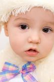 Pretty Caucasian Baby Portrait Royalty Free Stock Photos