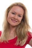 Pretty caucasian blond businesswoman Stock Photo