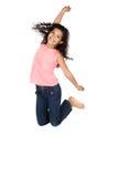 Pretty caucasian girl Stock Photos
