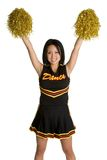 Pretty Cheerleader Stock Photo