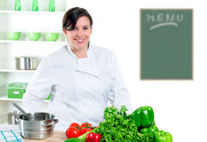 Pretty Chef Stock Photography