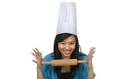 Pretty Chef Royalty Free Stock Photography