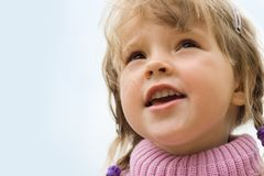 Pretty child Stock Image