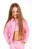 Pretty child girl portrait royalty free stock image