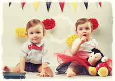 Pretty children Stock Photography
