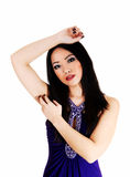 Pretty Chinese girl. Royalty Free Stock Images