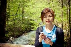 Pretty chinese girl Stock Photos