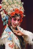 Pretty chinese opera actress Stock Photography