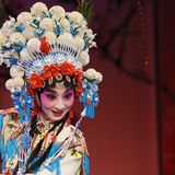 Pretty chinese opera actress Stock Photos