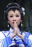 Pretty chinese opera actress Royalty Free Stock Image
