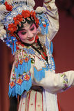 Pretty chinese opera actress Royalty Free Stock Image