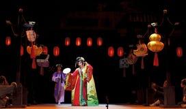 Pretty chinese opera actress Royalty Free Stock Photography