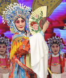 Pretty chinese opera actress Stock Photos