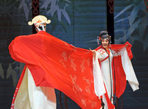 Pretty chinese traditional opera actress Royalty Free Stock Photography