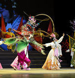 Pretty chinese traditional opera actress Royalty Free Stock Image