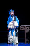 Pretty chinese traditional opera actress with theatrical costume Stock Photos