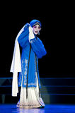 Pretty chinese traditional opera actress with theatrical costume Royalty Free Stock Photography