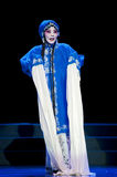 Pretty chinese traditional opera actress with theatrical costume Stock Photography
