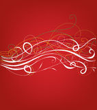 Pretty christmas background Stock Photography