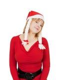 Pretty christmas girl Royalty Free Stock Photography