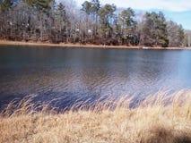 Pretty clear lake Royalty Free Stock Photos
