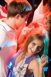 Pretty clubber Stock Image