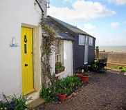 Pretty coastal kent cottage Stock Photography
