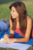 Pretty college girl Royalty Free Stock Images