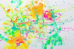 Pretty colorful creative abstract art royalty free stock photography