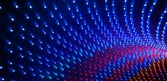 Colorful led stage lighting Stock Photography