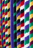 Pretty coloured sally ropes Stock Image