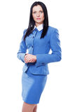 Pretty confident businesswoman Stock Image